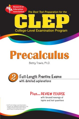 CLEP� Precalculus  N/A 9780738601748 Front Cover