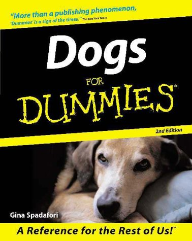 Dogs for Dummies  2nd 2001 (Revised) edition cover