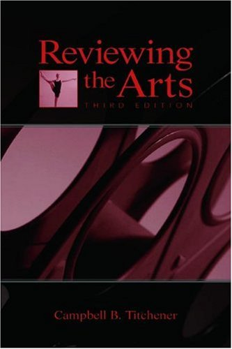 Reviewing the Arts  3rd 2005 (Revised) edition cover