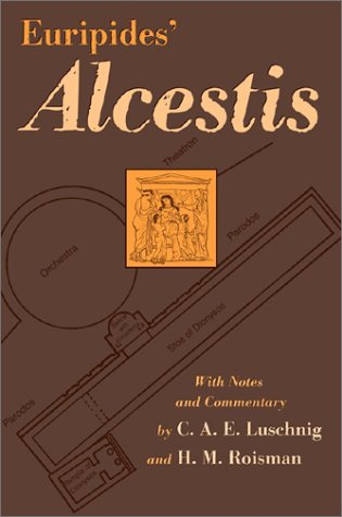 Euripides' Alcestis   2003 edition cover