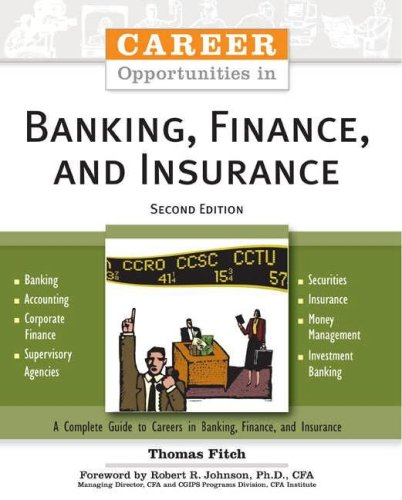 Career Opportunities in Banking, Finance, and Insurance  2nd 2007 (Revised) edition cover