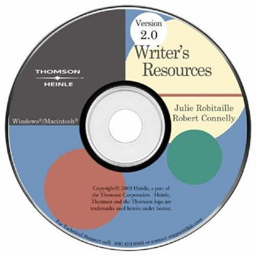 Writer's Resources 2.0  2nd 2003 (Revised) edition cover