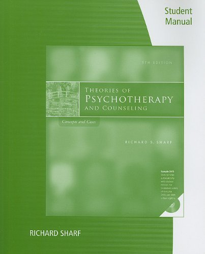 Theories of Psychotherapy and Counseling Concepts and Cases 5th 2012 edition cover