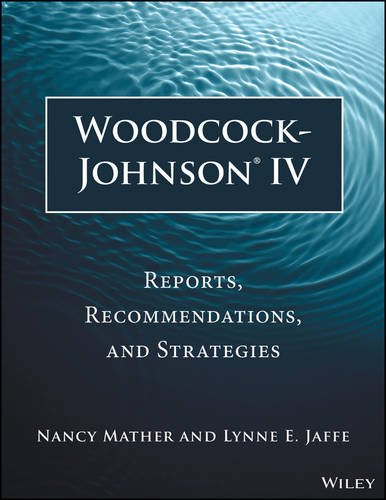 Woodcock-Johnson IV Reports, Recommendations, and Strategies 3rd 2016 9781118860748 Front Cover