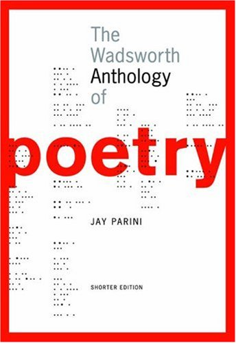 Wadsworth Anthology of Poetry   2006 (Brief Edition) edition cover