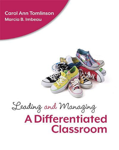 Leading and Managing a Differentiated Classroom   2010 edition cover