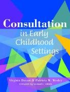 Consultation in Early Childhood Settings   2004 edition cover