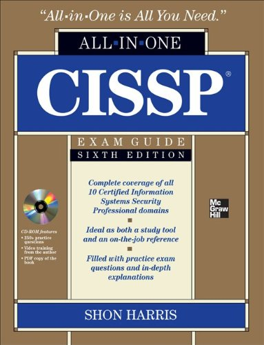 CISSP - All-in-One Exam Guide  6th 2012 edition cover