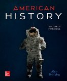 American History - From 1865  15th 2015 edition cover