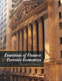 Essentials of Finance and Forensic Economics   2012 9780078047749 Front Cover