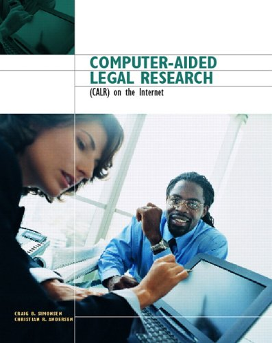 Computer-Aided Legal Research on the Internet  2nd 2006 (Revised) edition cover