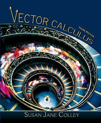 Vector Calculus  3rd 2006 edition cover