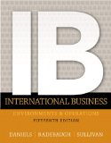 International Business Environment and Operations 15th 2015 edition cover