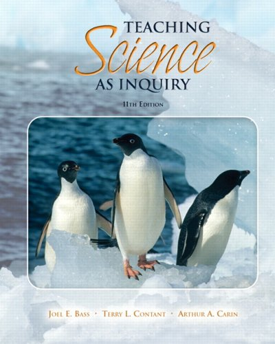 Teaching Science as Inquiry  11th 2009 edition cover
