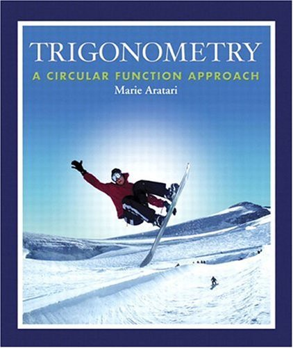 Trigonometry A Circular Function Approach  2004 edition cover