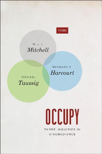 Occupy Three Inquiries in Disobedience  2013 edition cover