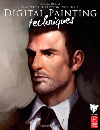 Digital Painting Techniques Practical Techniques of Digital Art Masters  2010 edition cover