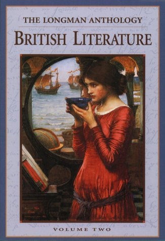 Longman Anthology of British Literature The Victorian Age  1999 9780321011749 Front Cover
