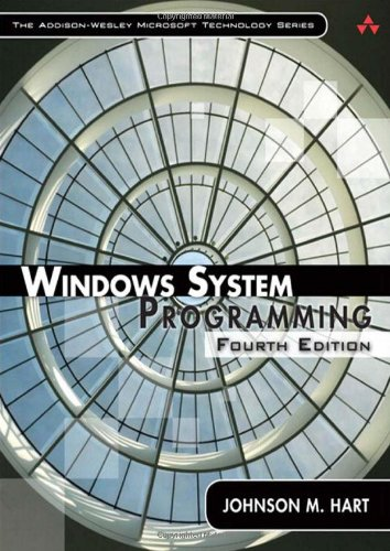 Windows System Programming  4th 2010 edition cover