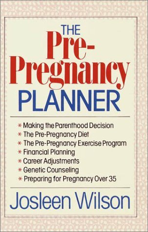 Pre-Pregnancy Planner  N/A 9780385231749 Front Cover