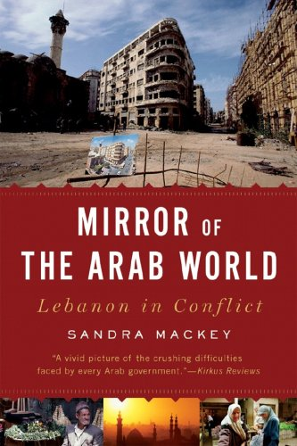 Mirror of the Arab World Lebanon in Conflict  2009 9780393333749 Front Cover
