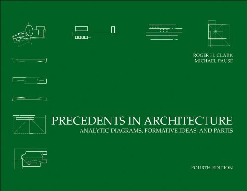 Precedents in Architecture Analytic Diagrams, Formative Ideas, and Partis 4th 2012 edition cover