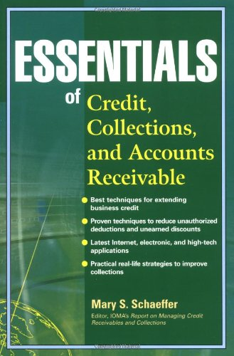 Essentials of Credit, Collections, and Accounts Receivable   2002 9780471220749 Front Cover
