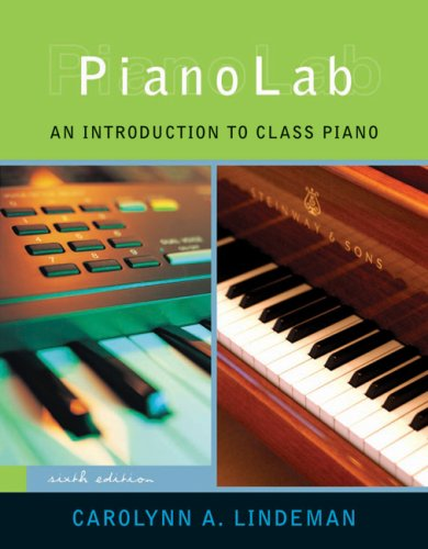 Pianolab An Introduction to Class Piano 6th 2008 (Revised) edition cover
