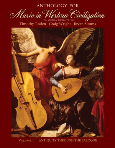 Anthology for Music in Western Civilization   2010 edition cover