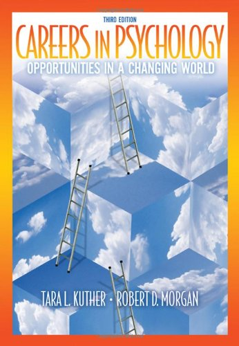 Careers in Psychology Opportunities in a Changing World 3rd 2010 edition cover