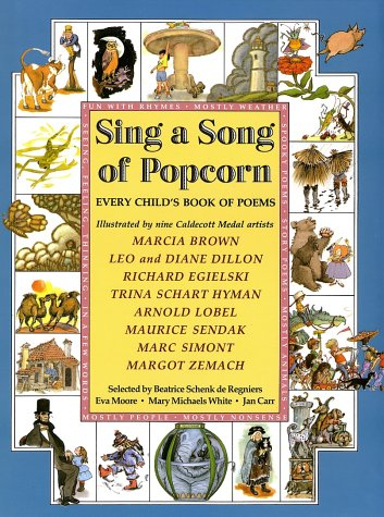 Sing a Song of Popcorn Every Child's Book of Poems N/A edition cover