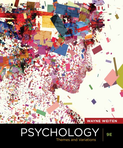 Psychology Themes and Variations 9th 2013 9781111354749 Front Cover