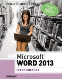 Microsoft� Word 2013, Introductory   2014 edition cover