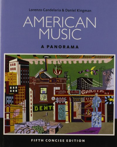 American Music: a Panorama, Concise (Book Only)  5th 2015 edition cover