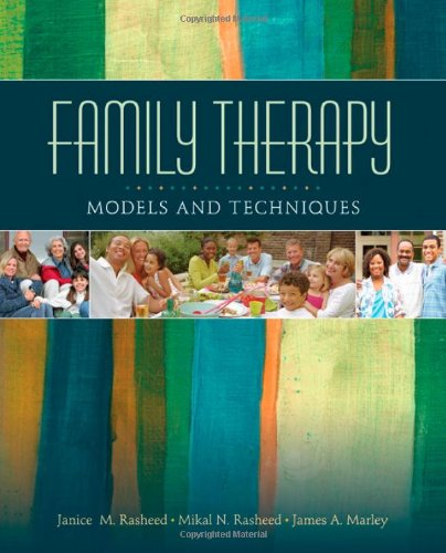 Family Therapy Models and Techniques  2011 edition cover