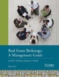 Real Estate Brokerage: A Management Guide  2013 9781427743749 Front Cover