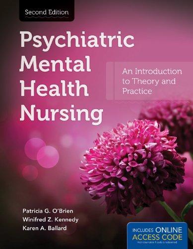 Psychiatric Mental Health Nursing  2nd 2013 edition cover