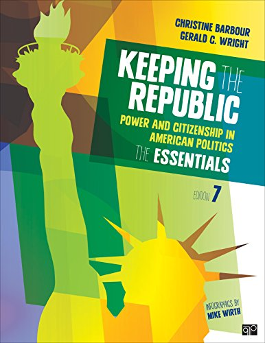 Keeping the Republic Power and Citizenship in American Politics, the ESSENTIALS 7th 2015 edition cover