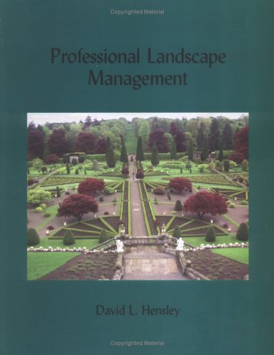 Professional Landscape Managemant 2nd 2005 edition cover