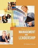 Principles of Management and Leadership   2012 edition cover