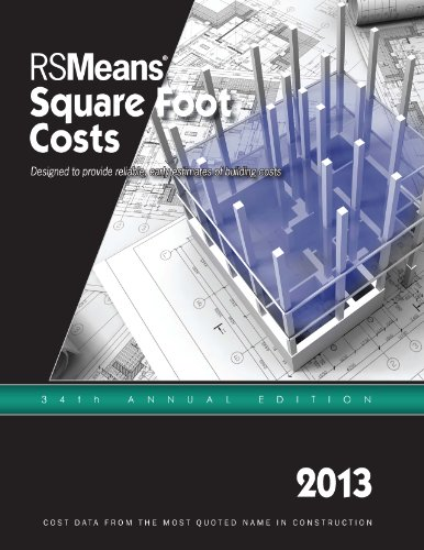 Square Foot Costs 2013:   2012 9781936335749 Front Cover