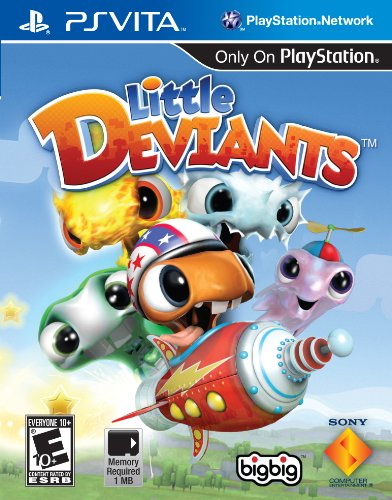 Little Deviants - PlayStation Vita PlayStation Vita artwork