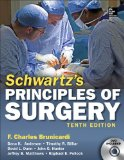 Principles of Surgery  10th 2014 edition cover