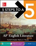 5 Steps to a 5 Ap English Literature, 2015:   2014 edition cover
