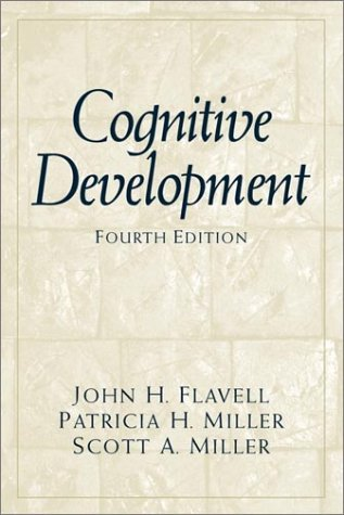 Cognitive Development  4th 2002 (Revised) edition cover