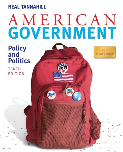 American Government Policy and Politics 10th 2010 edition cover