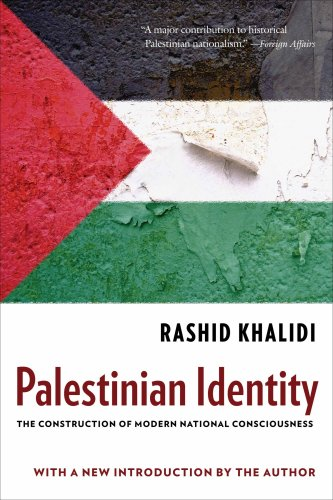 Palestinian Identity The Construction of Modern National Consciousness  2009 edition cover