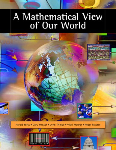 Mathematical View of Our World   2007 edition cover