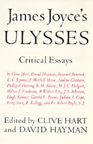 James Joyce's Ulysses Critical Essays  1977 edition cover