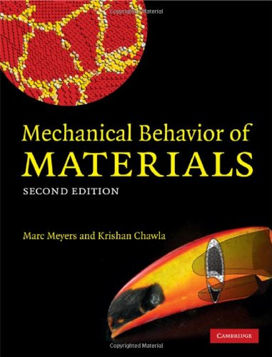 Mechanical Behavior of Materials  2nd 2008 (Revised) edition cover